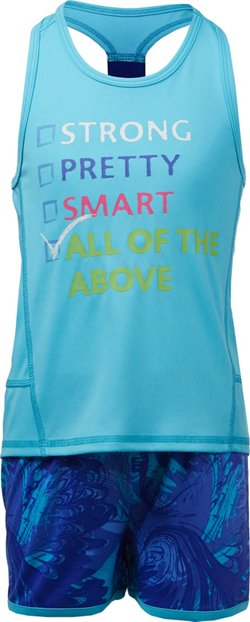 Cheetah Girls' All of the Above Printed Tank Top and Shorts Set