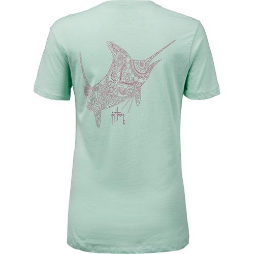 Guy Harvey Women's Holy Henna T-shirt