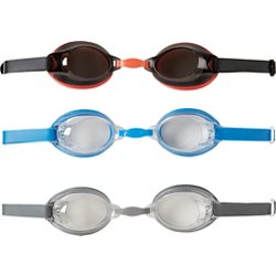 Adults' Swim Goggles 3-Pack