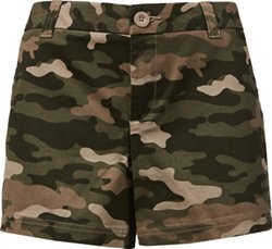 BCG Women's Roughin' It Printed Shorty Short