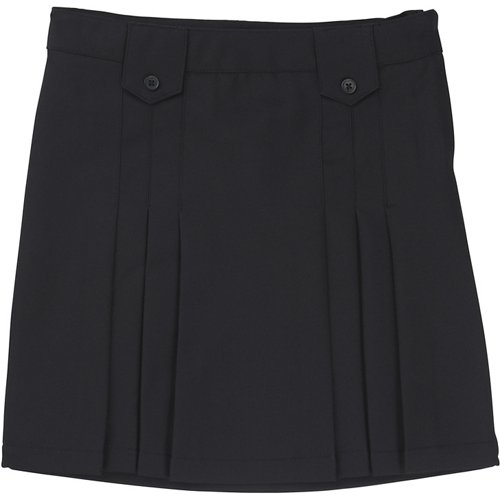 French Toast Girls' Front Pleated Tab Uniform Skirt