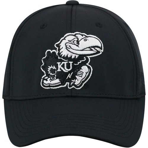 Top of the World Men's University of Kansas Tension Flex Fit Cap