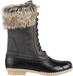 Magellan Outdoors Women's Fur Collar Duck Boots