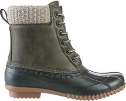 Women's Mid Sweater Duck Boots
