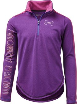 Under Armour Girls' Tech 1/2 Zip Pullover Top