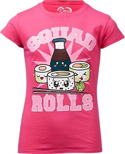 Extreme Concepts Girls' Squad Rolls T-shirt