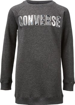 Converse Girls' Star Chevron Pullover Dress