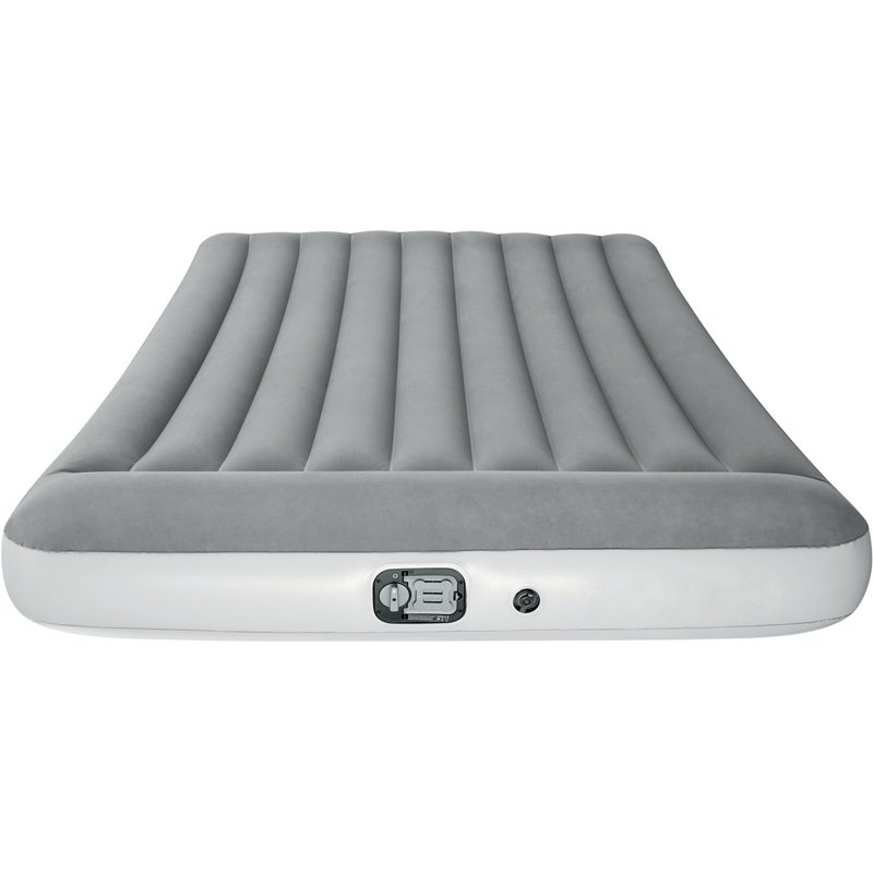 Bestway Full-Size Airbed with Built-In Pump Gray, Queen Mattress - Air Mattress/Accessories at Academy Sports -  15493