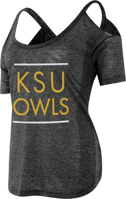 Women's Kennesaw State University Cold Shoulder T-shirt