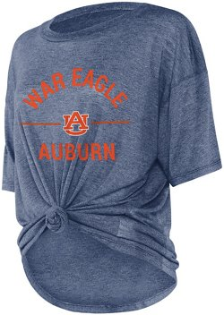 Women's Auburn University Boyfriend Knot T-shirt