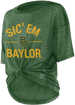 Women's Baylor University Boyfriend Knot T-shirt
