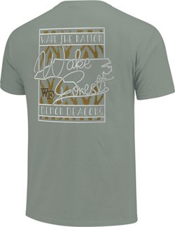 Image One Women's Wake Forest University State Block T-shirt