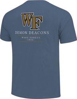 Image One Women's Wake Forest University Simple Mascot T-shirt