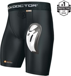 Shock Doctor Bio-Flex Cup Core Compression Shorts