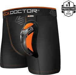 Shock Doctor Men's Ultra Cup Ultra Pro Boxer Compression Shorts