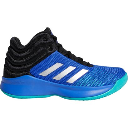 258f05875e4db4 adidas Boys  Pro Spark Wide 2018 Basketball Shoes