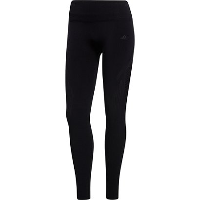 67e658163aed9 ... adidas Women's Warp Knit High Rise 7/8 Tights. Women's Compression  Pants. Hover/Click to enlarge