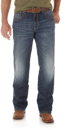 Wrangler Men's Retro Relaxed Fit Boot Cut Jeans