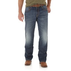 Men's Retro Relaxed Fit Boot Cut Jeans