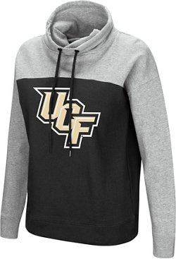Colosseum Athletics Women's University of Central Florida The Talk Funnel Neck Pullover