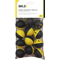 Mini Impact Baseball Training Balls 12-Pack