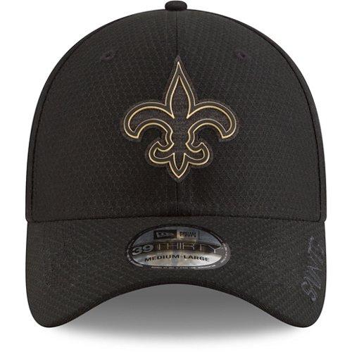 New Era Men's New Orleans Saints 39THIRTY Flex Fit Training Ball Cap