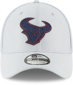 New Era Men's Houston Texans 39THIRTY Flex Fit Training Ball Cap