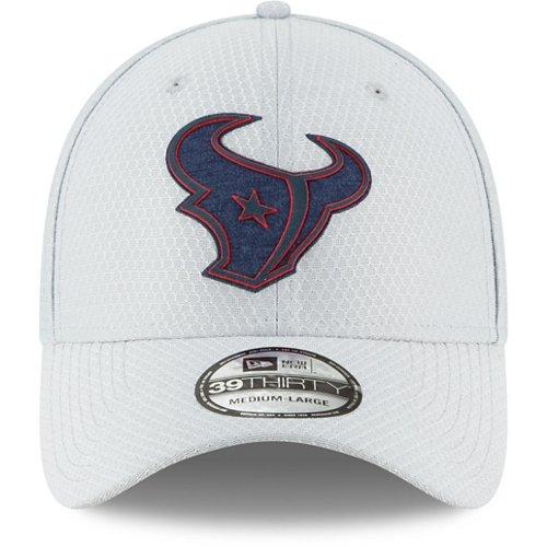 New Era Men's Houston Texans 39THIRTY Flex Fit Training Ball Cap