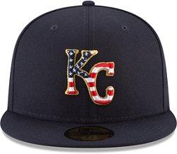 New Era Men's Kansas City Royals July 4th 59FIFTY Onfield Cap