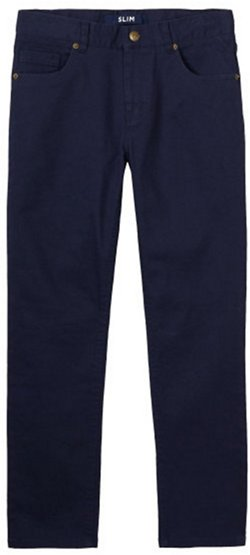 French Toast Boys' Stretch Slim 5-Pocket Pants