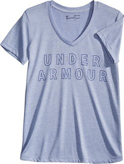 Under Armour Women's UA Tech Graphic Twist V-Neck T-shirt