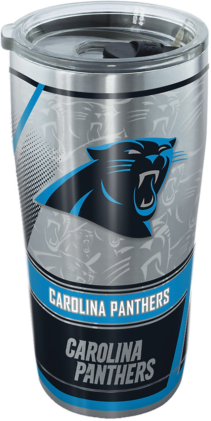 Tervis Carolina Panthers 20 oz Stainless-Steel Tumbler - view number 1