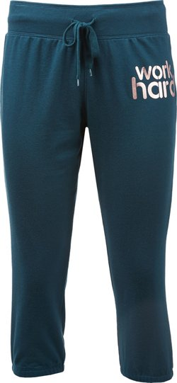 BCG Women's Work Hard Capri Pants