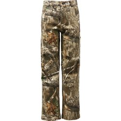 Youth Hill Country Twill Camo Pants
