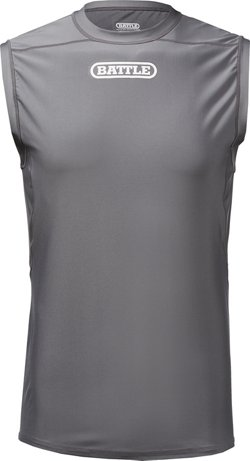 Battle Youth Sleeveless Football Compression Top