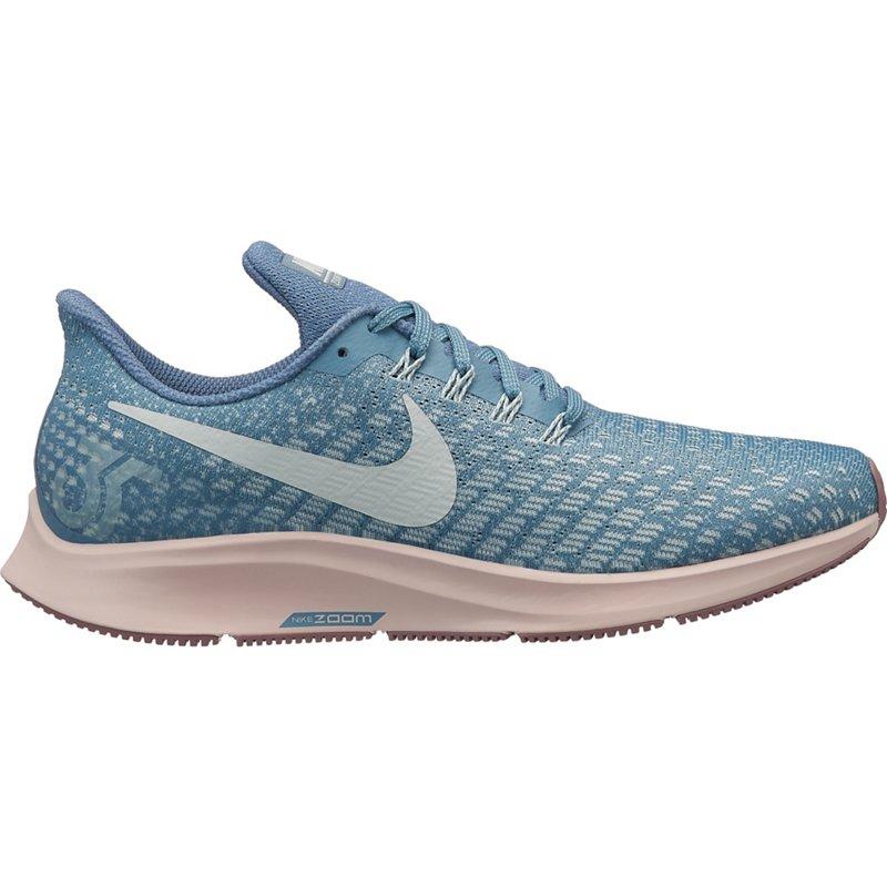 caa9618697ea Nike Women s Air Zoom Pegasus 35 Running Shoes (Celestial Teal Light  Silver