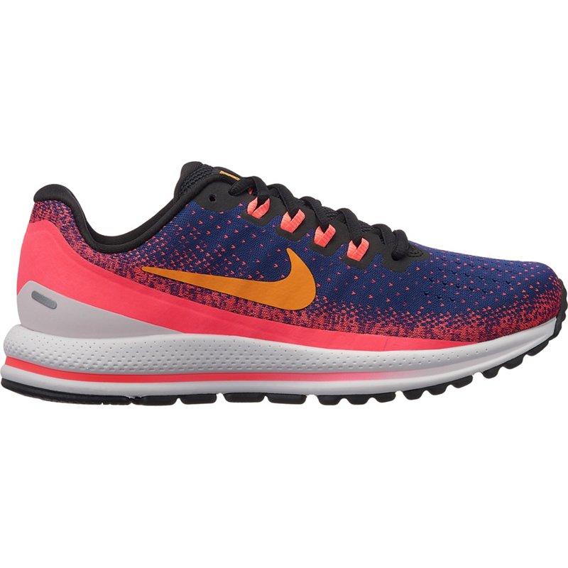 5ead0d738ae0 Nike Women s Air Zoom Vomero 13 Running Shoes (Blue Void Orange Peel Flash