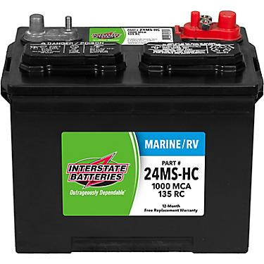 Who Makes Interstate Batteries >> Interstate Batteries 1 000 Marine Cranking Amp Starting Battery
