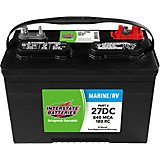 Interstate Batteries Deep Cycle 840 Marine Cranking Amp Battery