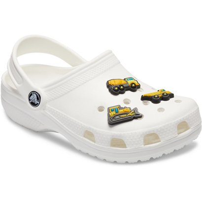 54f8e3426bf8c Crocs Jibbitz Construction Vehicles Shoe Charms 3-Pack