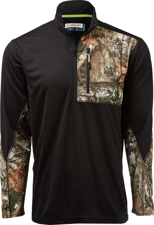 7001786effd6d Display product reviews for Magellan Outdoors Men s Hunt Gear 1 4 Zip Camo  Shirt