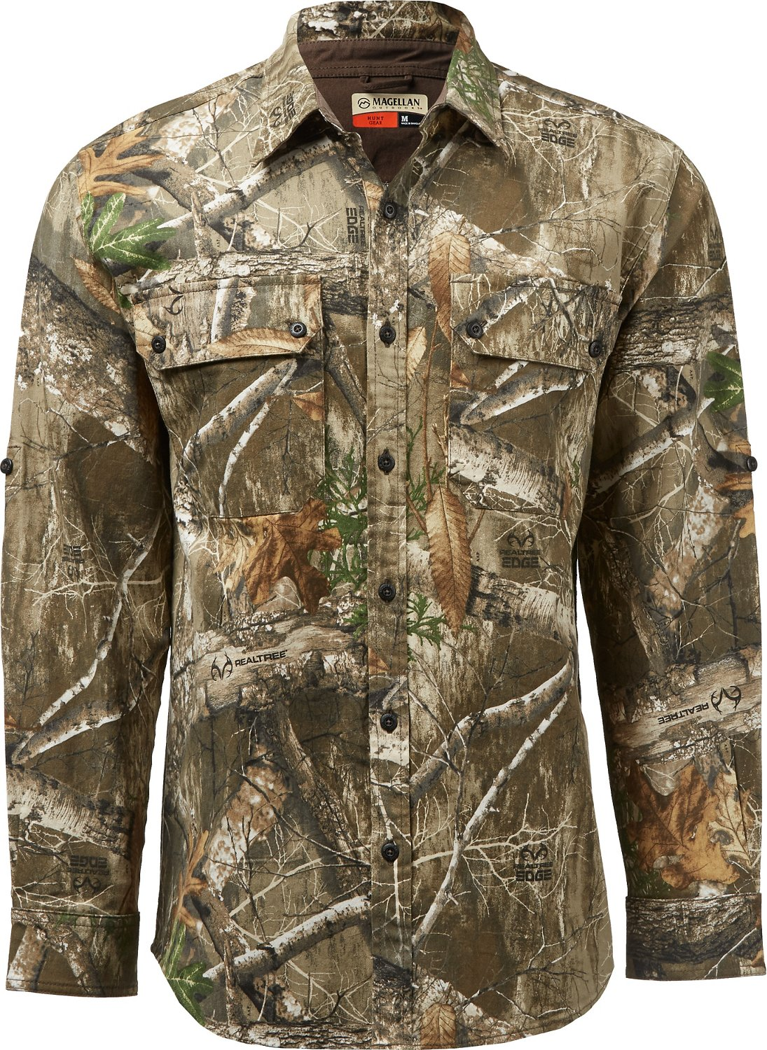 f195e57ba0 Magellan Outdoors Men's Hill Country Long Sleeve Twill Shirt | Academy