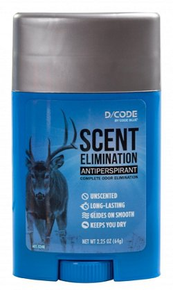 Code Blue D/Code Scent Elimination Antiperspirant Stick