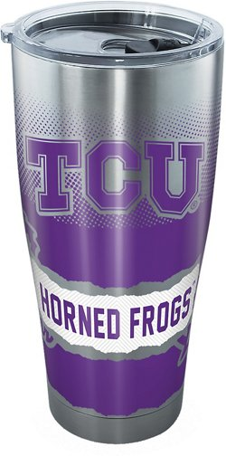 Tervis Texas Christian University 30 oz Knockout Stainless Steel Tumbler