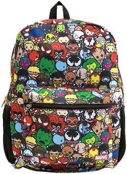 Global Design Concepts Kids' Marvel Kawaii Avengers Allover Backpack