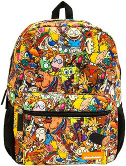 Global Design Concepts Kids' Nick 90s Allover Backpack