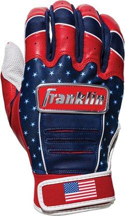Franklin Men's CFX Pro 4th of July Batting Gloves