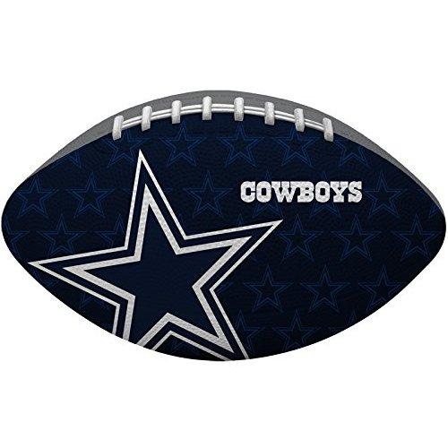 Rawlings Dallas Cowboys Gridiron Junior-Size Rubber Football