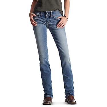Ariat Women's REAL Boot Simple Stitch Jeans