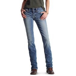 Women's REAL Boot Simple Stitch Jeans